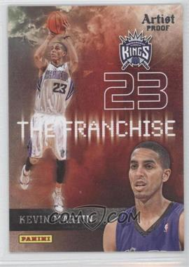 2009-10 Panini The Franchise Artist Proof #12 - Kevin Martin /199