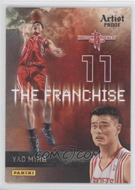 2009-10 Panini The Franchise Artist Proof #20 - Yao Ming /199
