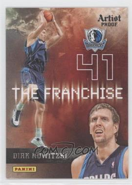 2009-10 Panini The Franchise Artist Proof #5 - Dirk Nowitzki /199