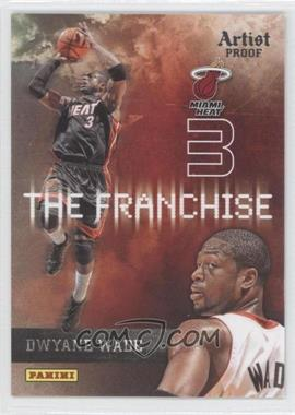 2009-10 Panini The Franchise Artist Proof #7 - Dwyane Wade /199