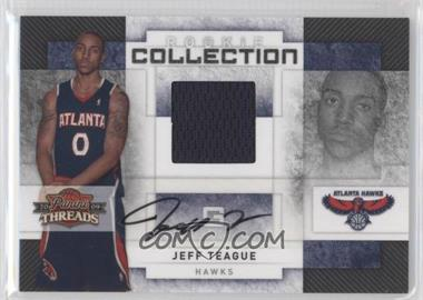 2009-10 Panini Threads - Rookie Collection Materials - Signatures [Autographed] #18 - Jeff Teague /50