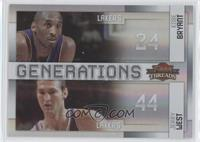 Kobe Bryant, Jerry West /100