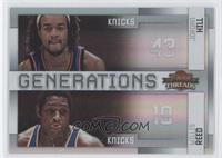 Jordan Hill, Willis Reed /100