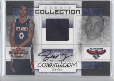 2009-10 Panini Threads Rookie Collection Materials Signatures [Autographed] #18 - Jeff Teague /50