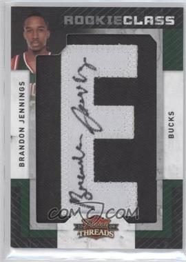 2009-10 Panini Threads #110 - Brandon Jennings /640