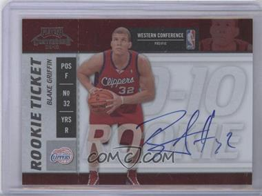 2009-10 Playoff Contenders - [Base] #101 - Rookie Ticket - Blake Griffin