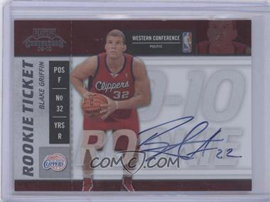 2009-10 Playoff Contenders - [Base] #101 - Rookie Ticket - Blake Griffin [Near Mint‑Mint]