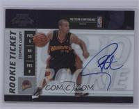 Rookie Ticket - Stephen Curry [Near Mint‑Mint]