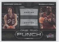 Anderson Varejao, Shaquille O'Neal /100