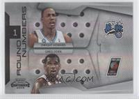Dwight Howard, Greg Oden /50