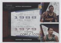 Mitch Richmond, Sidney Moncrief /50