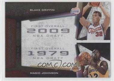 2009-10 Playoff Contenders Draft Tandems Black #17 - Blake Griffin, Magic Johnson /50