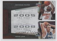 Raymond Felton, Kevin Love /50