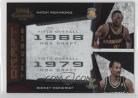 Mitch Richmond, Sidney Moncrief /100