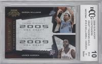 Deron Williams, James Harden /100 [ENCASED]