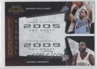 Deron Williams, James Harden /100