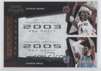 Chris Bosh, Chris Paul /100
