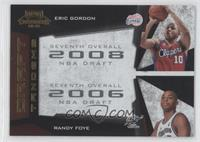 Eric Gordon, Randy Foye /100