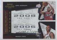 Eric Gordon, Randy Foye /100