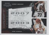 Corey Brewer, Kirk Hinrich
