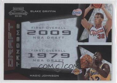 2009-10 Playoff Contenders Draft Tandems #17 - Blake Griffin, Magic Johnson
