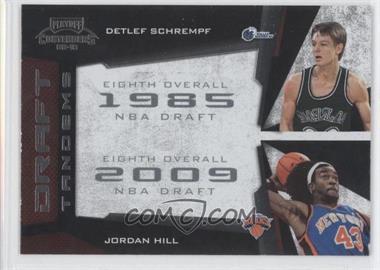 2009-10 Playoff Contenders Draft Tandems #20 - Detlef Schrempf, Jordan Hill