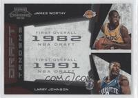 James Worthy, Larry Johnson