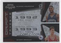 Alonzo Mourning, Shawn Bradley