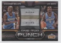 Chauncey Billups, J.R. Smith /50