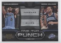 Carlos Boozer, Deron Williams /100