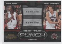 Chris Bosh, Hedo Turkoglu /100