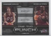 Anderson Varejao, Shaquille O'Neal