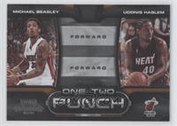 Michael Beasley, Udonis Haslem