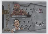 Manu Ginobili, Mo Williams /100