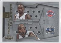 Vince Carter, Ben Gordon /100
