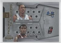 Dwight Howard, Greg Oden /100