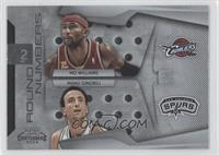 Mo Williams, Manu Ginobili