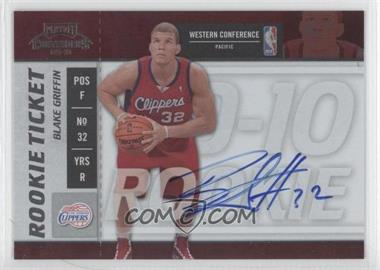 2009-10 Playoff Contenders #101 - Rookie Ticket - Blake Griffin