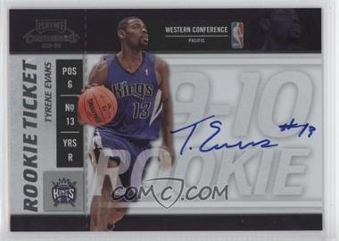 2009-10 Playoff Contenders #104 - Rookie Ticket - Tyreke Evans