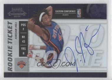 2009-10 Playoff Contenders #107 - Rookie Ticket - Jordan Hill