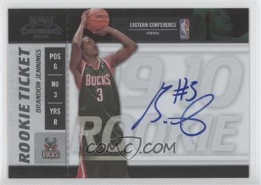 2009-10 Playoff Contenders #108 - Brandon Jennings
