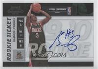 Rookie Ticket - Brandon Jennings