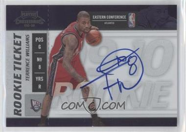 2009-10 Playoff Contenders #109 - Rookie Ticket - Terrence Williams