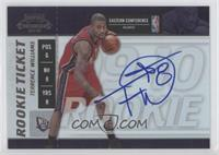 Rookie Ticket - Terrence Williams