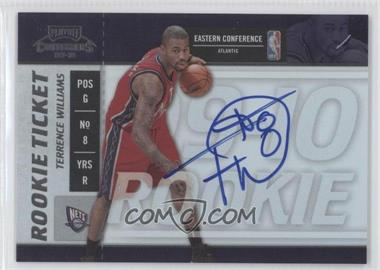 2009-10 Playoff Contenders #109 - Terrence Williams