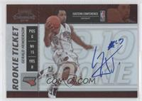 Rookie Ticket - Gerald Henderson