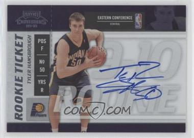 2009-10 Playoff Contenders #111 - Rookie Ticket - Tyler Hansbrough