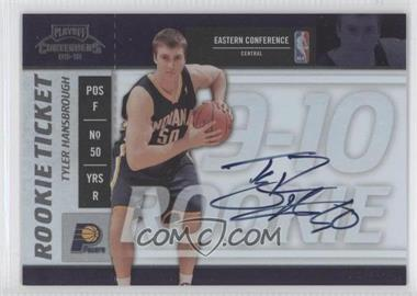 2009-10 Playoff Contenders #111 - Tyler Hansbrough