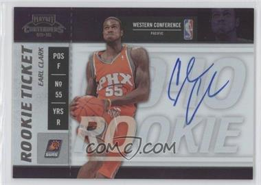 2009-10 Playoff Contenders #112 - Earl Clark