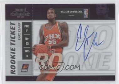 2009-10 Playoff Contenders #112 - Rookie Ticket - Earl Clark